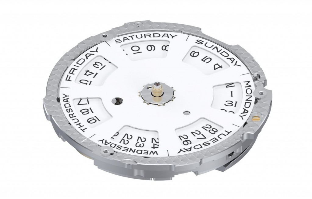 The Caliber 3255, dial side