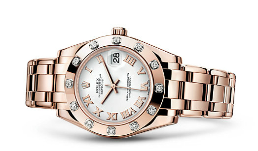 Rolex Pearlmaster 34 Watches With Diamond-set Bezel