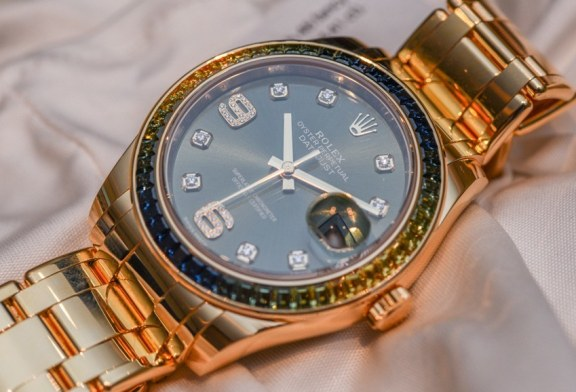 Best replica rolex oyster perpetual datejust 18k yellow gold watch for sale