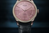 Replica Rolex Cellini Time Rose Gold Pink Dial Watches Reveal Elegant Eternal