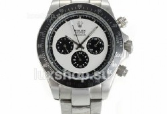 Replica rolex daytona ii white dial stainless steel watches for sale