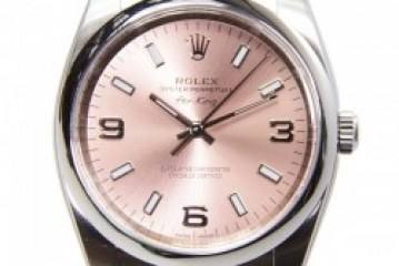 The Fashionable Rolex Air King Pink Dial Steel Replica Watch