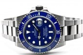 Cheap Rolex Submariner Blue Dial  Replica Watches 16600