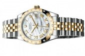 Rolex Oyster Perpetual Datejust Lady 31 MOP Dial Two Tone Replica Watches