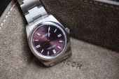 Replica Rolex Oyster Perpetual Air King 36mm With Red Grape Dial Watches