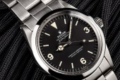 The Rolex Explorer Black Dial Stainless Steel Replica Watch, Then and Now