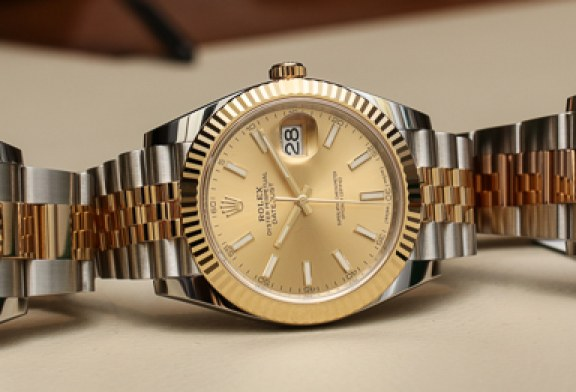 Two-Tone Rolex Datejust 41 Replica Watch with caliber 3235