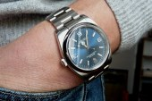 Steel dial rolex oyster perpetual replica watches