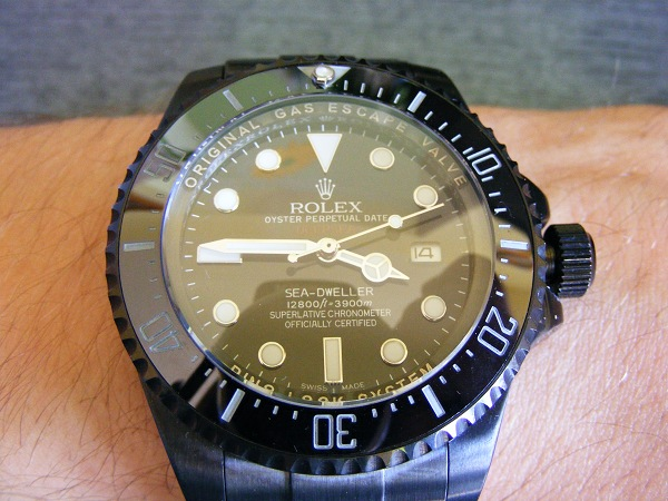 Rolex Deepsea Sea-Dweller Jacques Piccard Special Edition