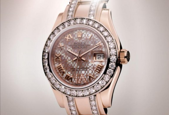 Rolex Oyster Perpetual Lady-Datejust Pearlmaster Replica Watch