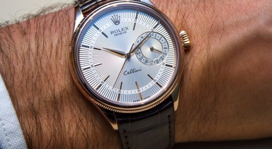 Swiss 7750 Valjoux Rolex Cellini Date Watch New For 2014 Hands-On Replica Wholesale