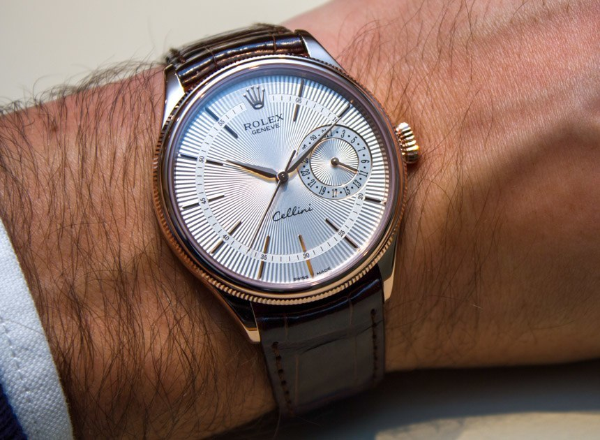 Rolex Cellini Date Watch New For 2014 Hands-On Hands-On