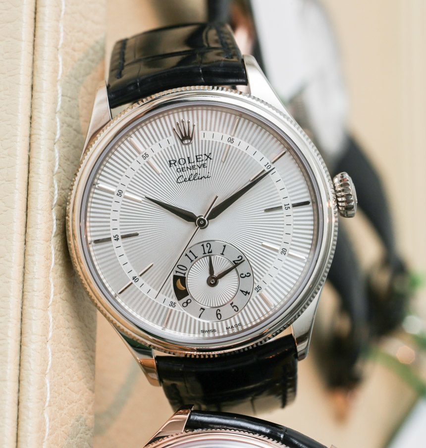 Rolex Cellini Dual Time Watch For 2014 Hands-On Hands-On