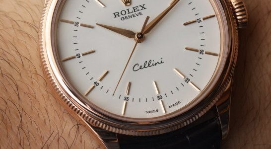 Discount Rolex Cellini Time Watch For 2016 With 'Clean Dial' Hands-On Swiss Movement Replica Watches