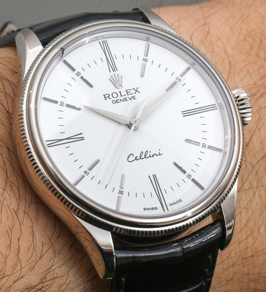 Rolex Cellini Time: Return Of The Crown's Dress Watch Hands-On
