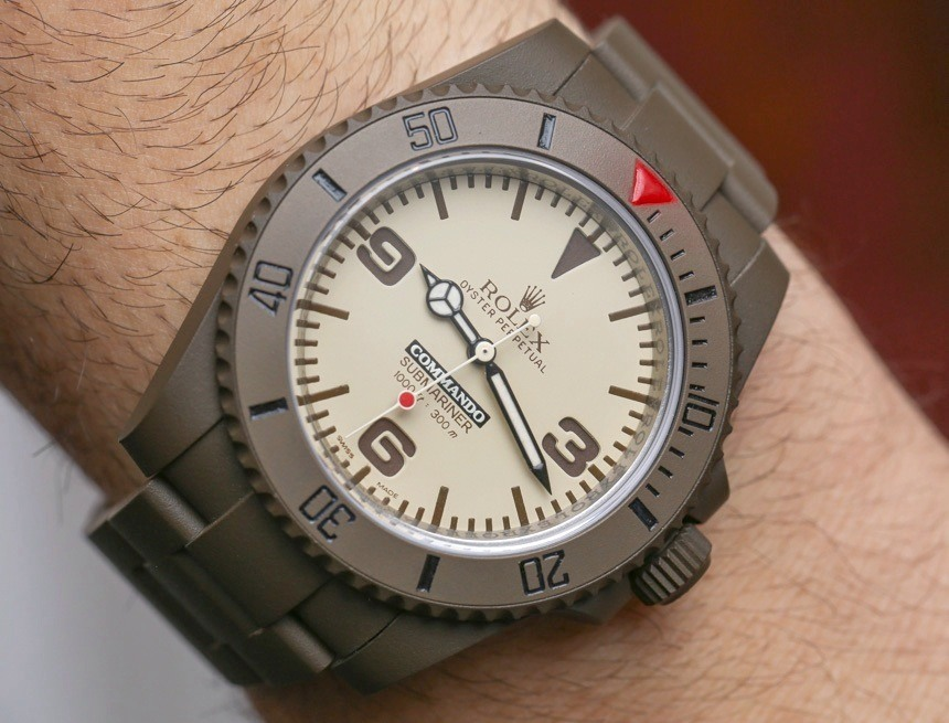 Bamford Watch Department Commando Hands-On: Is It Still A Rolex? Hands-On