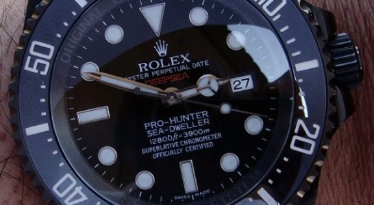 Cheap Wholesale Pro-Hunter Military Single Red DeepSea Rolex Watch Available On James List Replica Buyers Guide