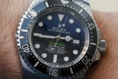 We Buy Rolex Deepsea Sea-Dweller D-Blue Watch For James Cameron Hands-On Replica Wholesale Suppliers
