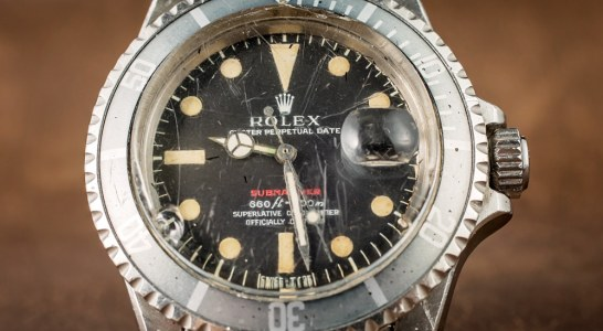 How Much A Vintage Rolex 'Red Submariner' Watch With An Actual History Of Military Service Replica Trusted Dealers