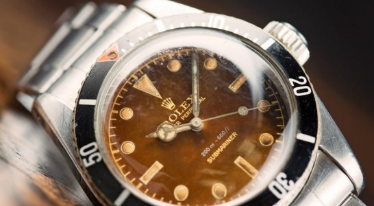 Review Of Rolex Submariner 'Big Crown' Tropical Dial Ref. 6538 Watch With A Long History (And A James Bond 007 Connection) Replica Wholesale Suppliers
