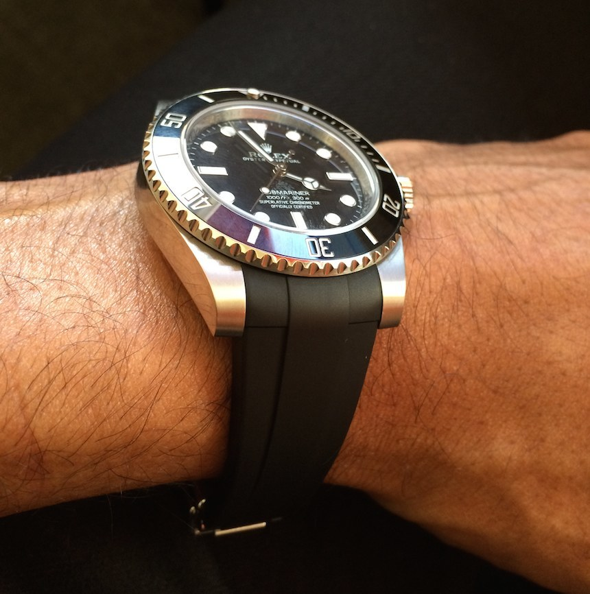 Reviewing The RubberB Strap For Rolex Submariner 48mm Replica Submariner And GMT Master II Luxury Items