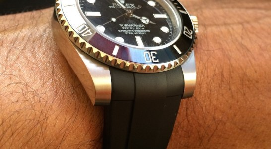 Review Of Reviewing The RubberB Strap For Rolex Submariner And GMT Master II Replica Watches Young Professional