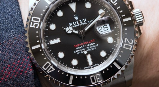 Can I Buy Rolex Sea-Dweller 126600 Watch Marks 50th Anniversary Of The Sea-Dweller Low Price Replica