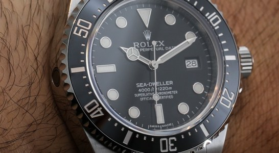 Discount Rolex Sea-Dweller 4000 Ref. 116600 Watch For 2014 Hands-On Replica Expensive
