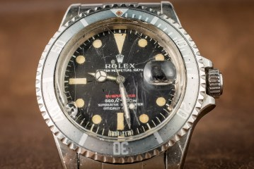 A Vintage Rolex 'Red Submariner' Watch With An Actual History Of Military Service Replica Wholesale Suppliers