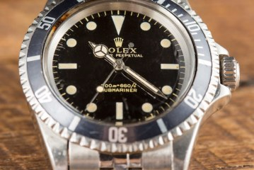 A Rolex Submariner Ref. 5513 Gilt Dial Watch Purchased To Impress A Prince Replica Suppliers