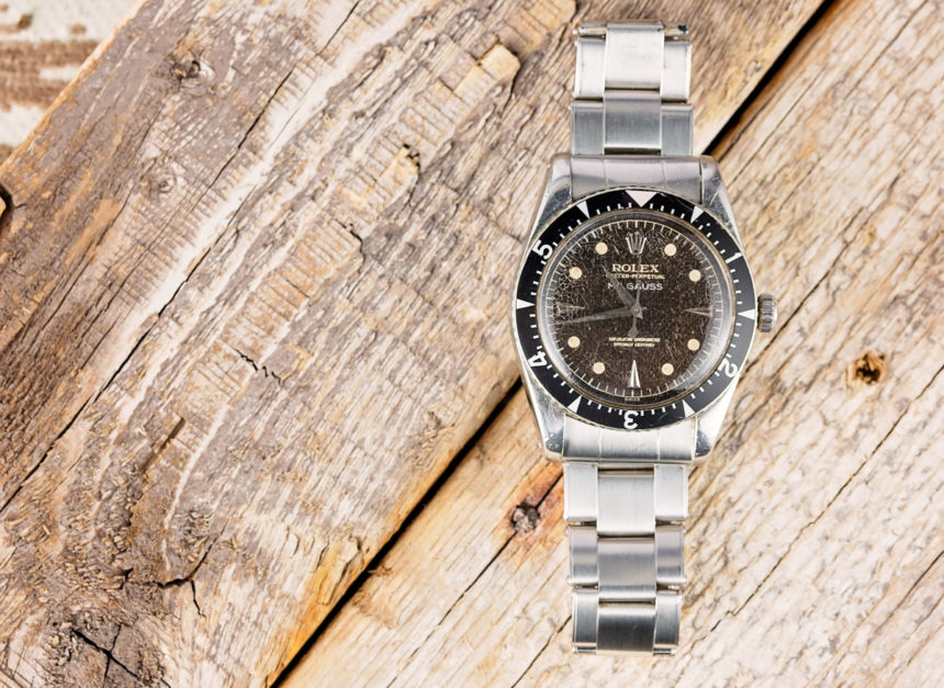 This Unwanted Rolex Vintage Oyster Perpetual Replica Milgauss 6541 Now An Iconic Timepiece Collectors Drool Over Hands-On