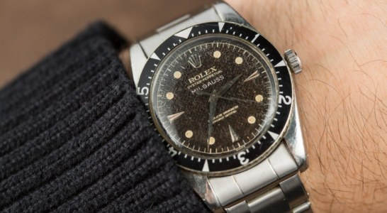 This Unwanted Rolex Milgauss 6541 Now An Iconic Timepiece Collectors Drool Over Replica Suppliers