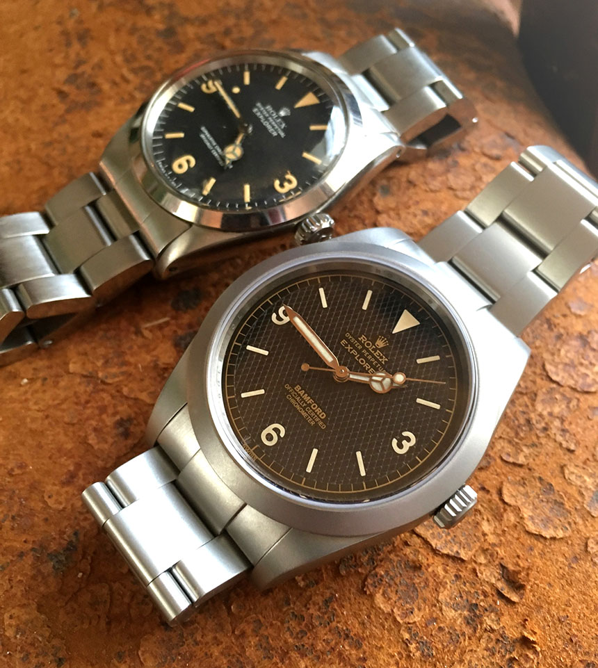 Bamford Heritage Series Customized Rolex Vintage Sea Dweller Replica Watches Watch Releases