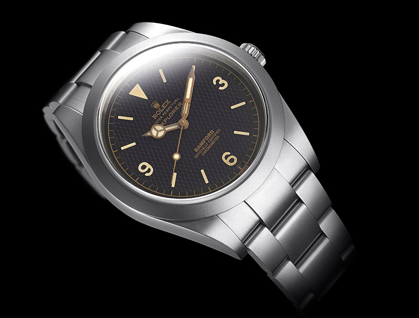 Bamford Heritage Series Customized Vintage Rolex 50s Replica Watches Watch Releases