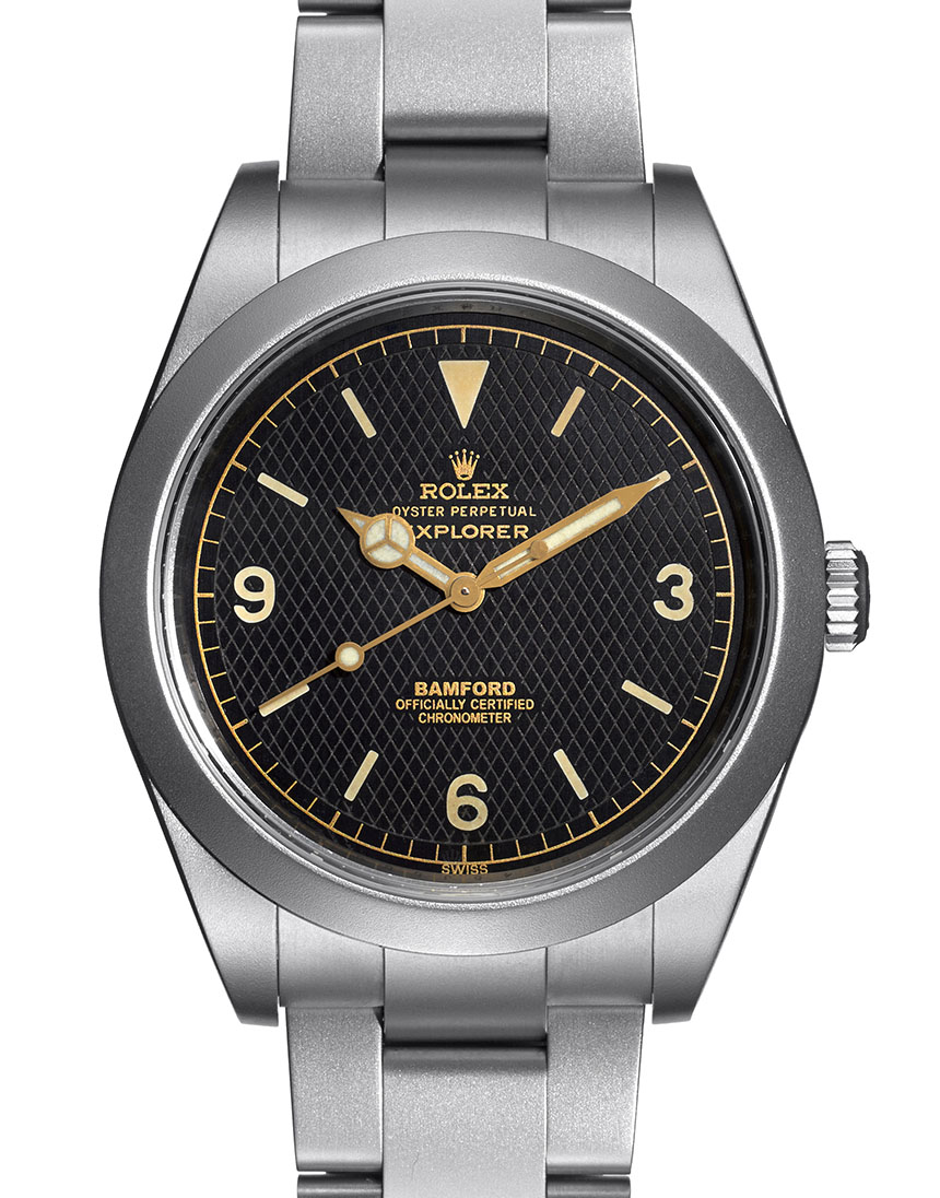 Bamford Heritage Series Customized Rolex Vintage Zurich Replica Watches Watch Releases